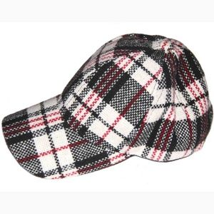 Do Everything In Love Cap Hat Plaid Women's OS